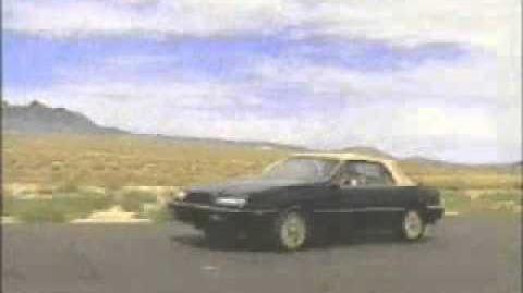 Chrysler LeBaron GTC 2DR Convertible