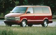 1997 Chevrolet Astro LT Passenger Van