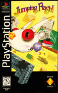 Jumping Flash PS1 cover