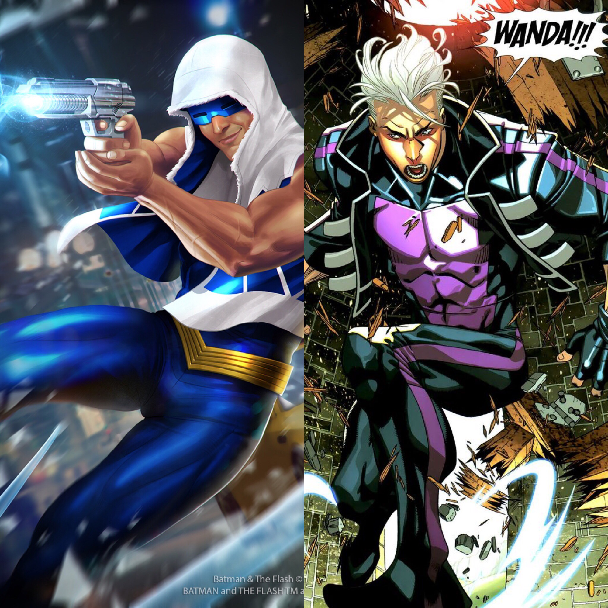 Rogues vs Marvel: Captain Cold round 2