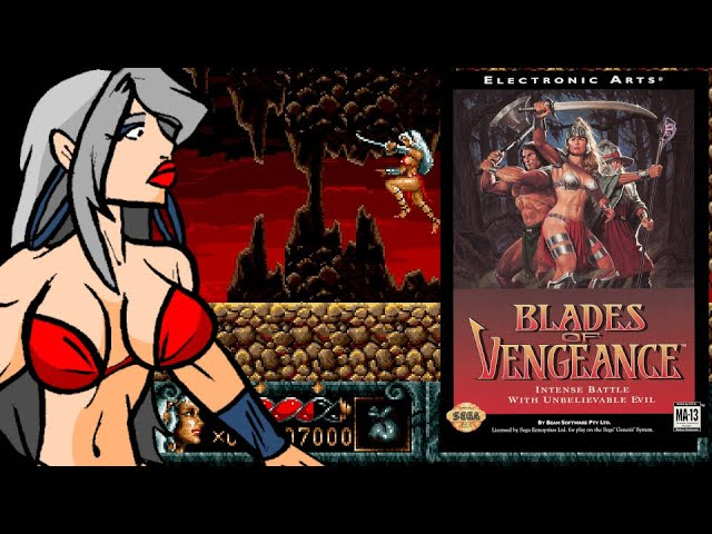 Blades of Vengeance! Sega Mega Drive... random find. Retro Review Series!