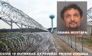 On the Run Fugitive Osama Sam Mustafa Has Been Captured and Sent to Petersburg Federal Prison Hopewell VA