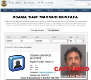 Attn Tampa Media On the Run Fugitive Osama Sam Mustafa Has Been Captured and Sent to Petersburg Federal Prison Hopewell VA