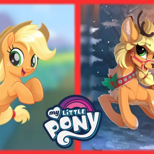 My Little Pony as DEER!!!