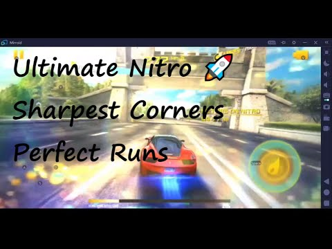 Asphalt 8: Ultimate Nitro 🚀|| Sharpest Corners || Perfect Runs || Drift ++ control your phone on PC