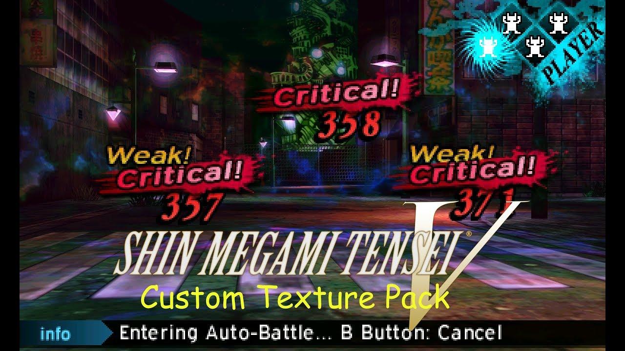 """""""Shin Megami Tensei V"""": Custom Texture Abomination"""