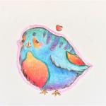 IJsdroom Vogeltje