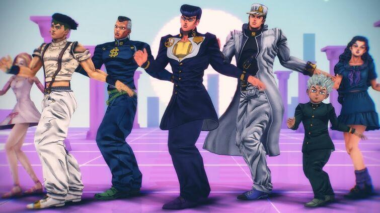 【JOJO MMD】dancin