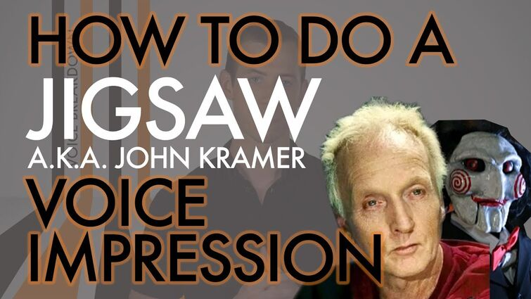 """""""How To Do A Jigsaw Voice Impression"""" - Halloween Special - Voice Breakdown Ep. 7"""