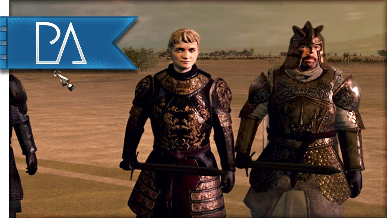KING JOFFREY SURROUNDED: Game of Thrones - Seven Kingdoms Total War Mod Gameplay