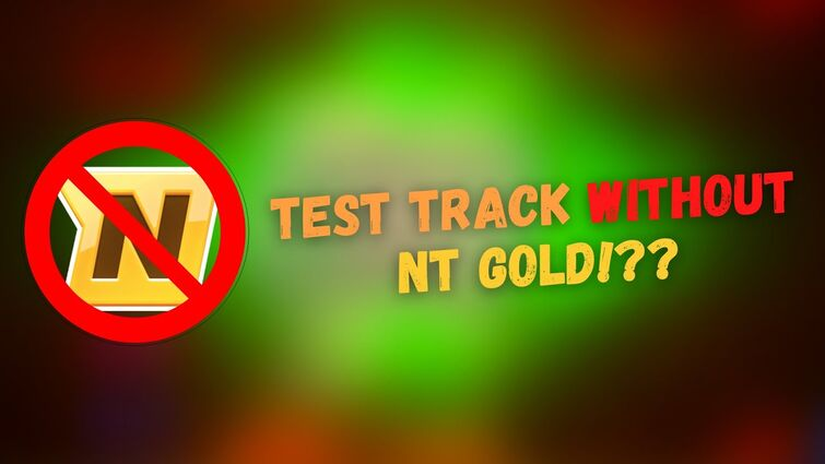 How To Access the Nitro Type Test Track WITHOUT GOLD!