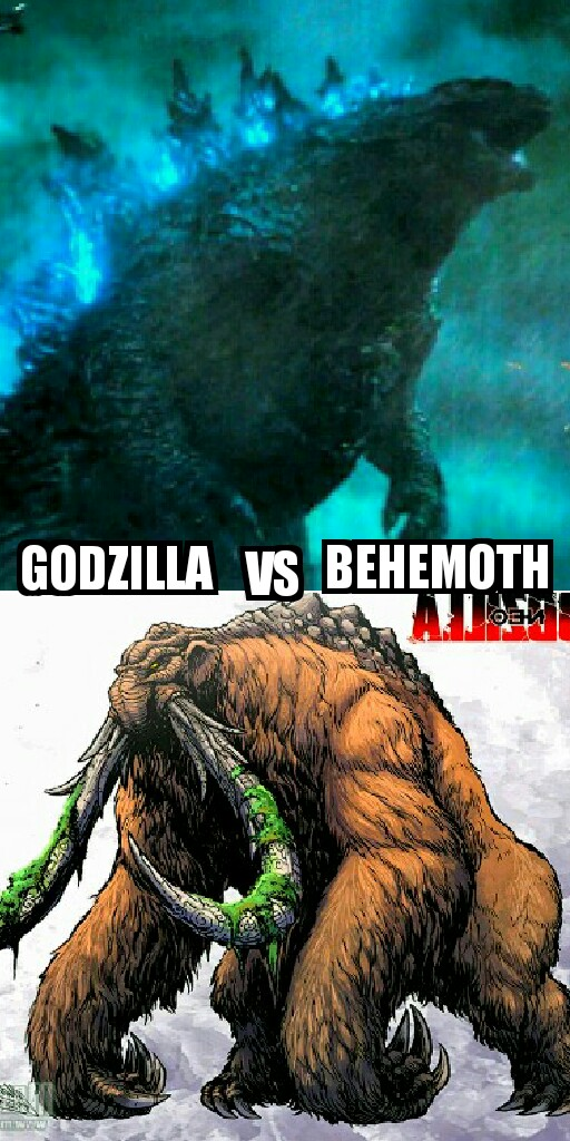 titanus gojira vs titanus behemoth