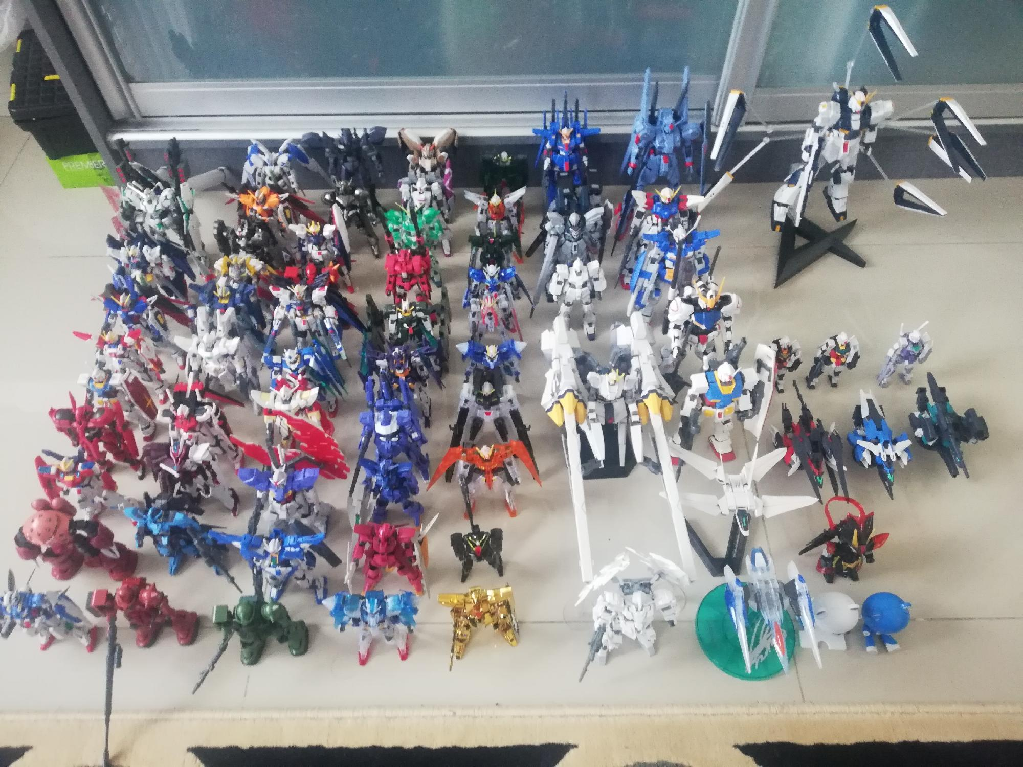 My 2019 gunpla collection