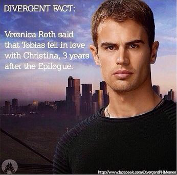 This makes me Mad!!!!! But at least it took him three years. But #fourtrisforever NO TOBIAS NO!!!!