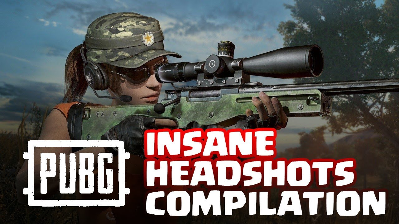 PUBG INSANE Sniping HeadShots - Compilation #01