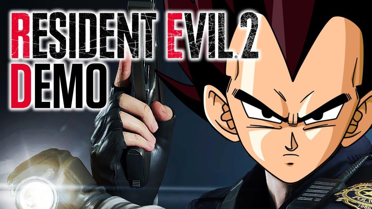 ReSaiyant Evil 2! | Vegeta Plays Resident Evil 2 Remake Demo | Renegade For Life