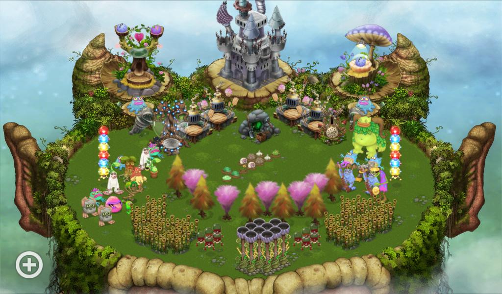 How u think of my plant island