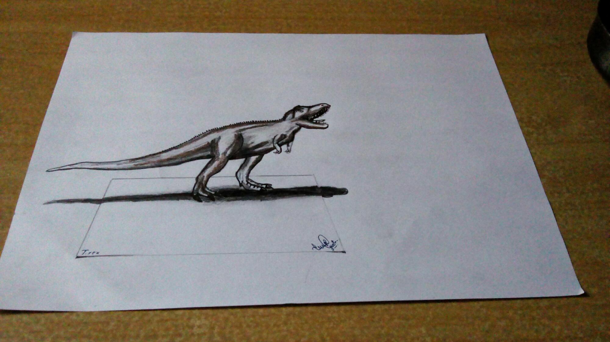 T.rex sketch !