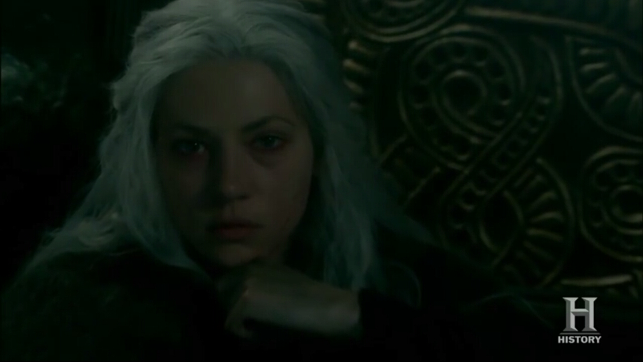 Why is Lagertha  aged  at 5A's ending?
