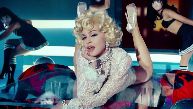 Madonna feat. M.I.A. and Nicki Minaj - Give Me All Your Luvin' (Official Music Video)