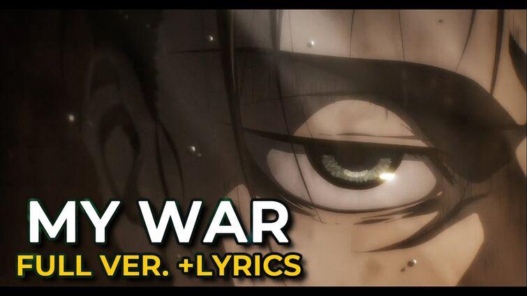 「My War (full ver.)」[Shinsei Kamattechan] - lyrics video