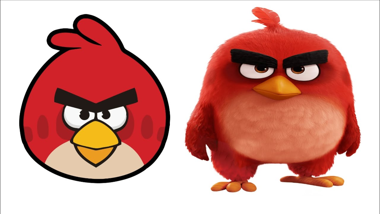 angry birds then vs now