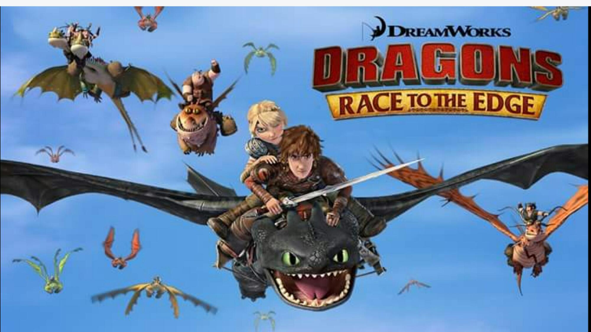 Dragons race to the edge season 6 2018