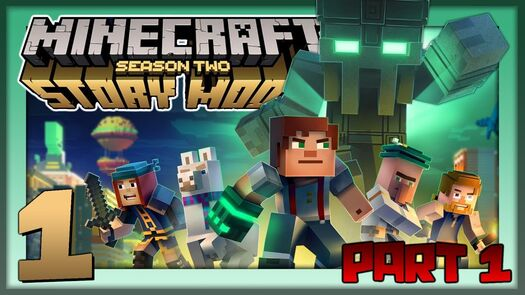 Minecraft Story Mode S2 Pt.1: I am the Mayor!