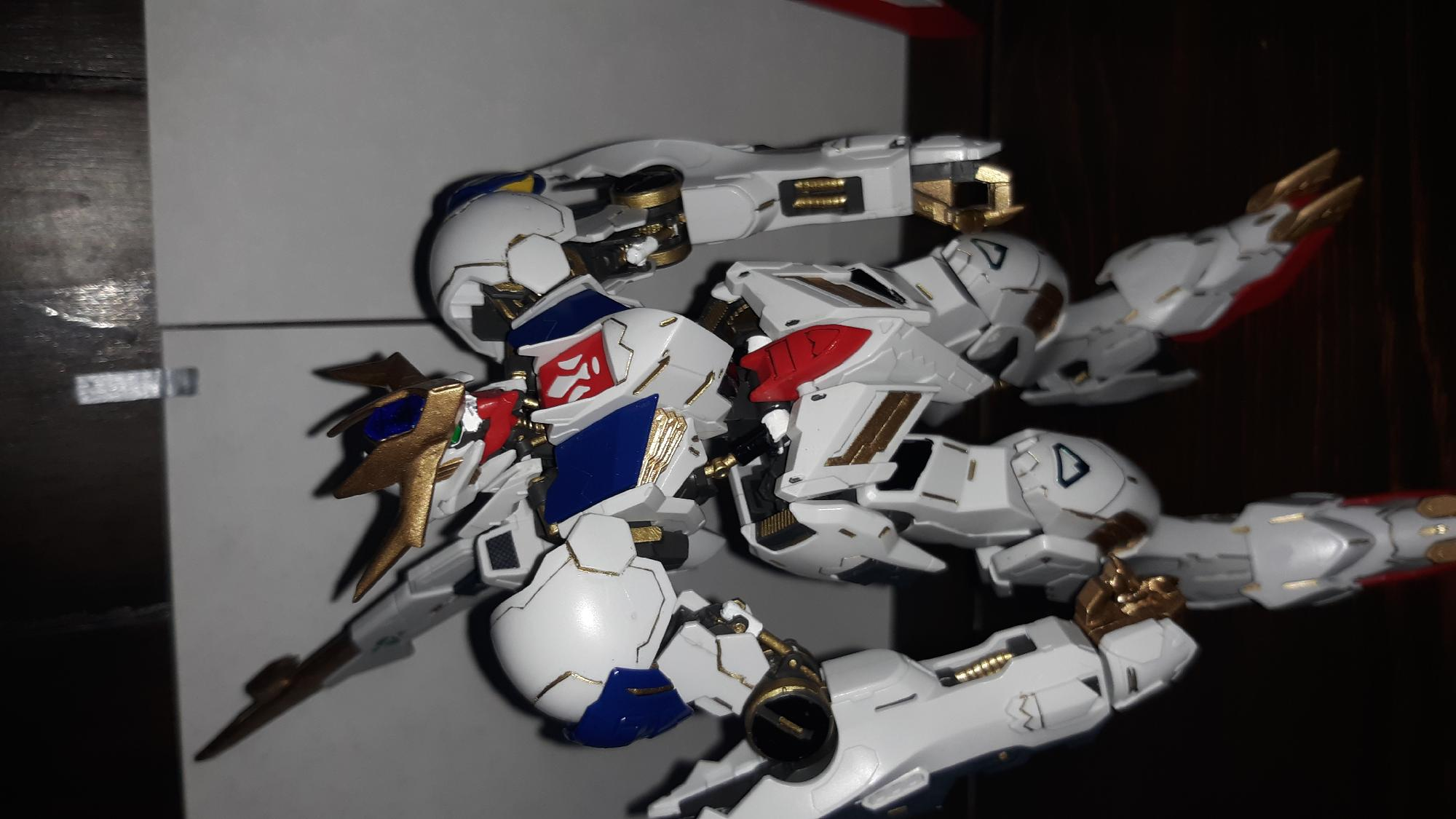 B- panel lined in gold friggin sweet