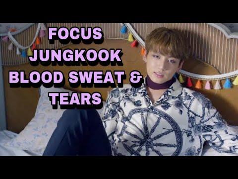 Focus Jungkook in BLOOD SWEAT & TEARS MV