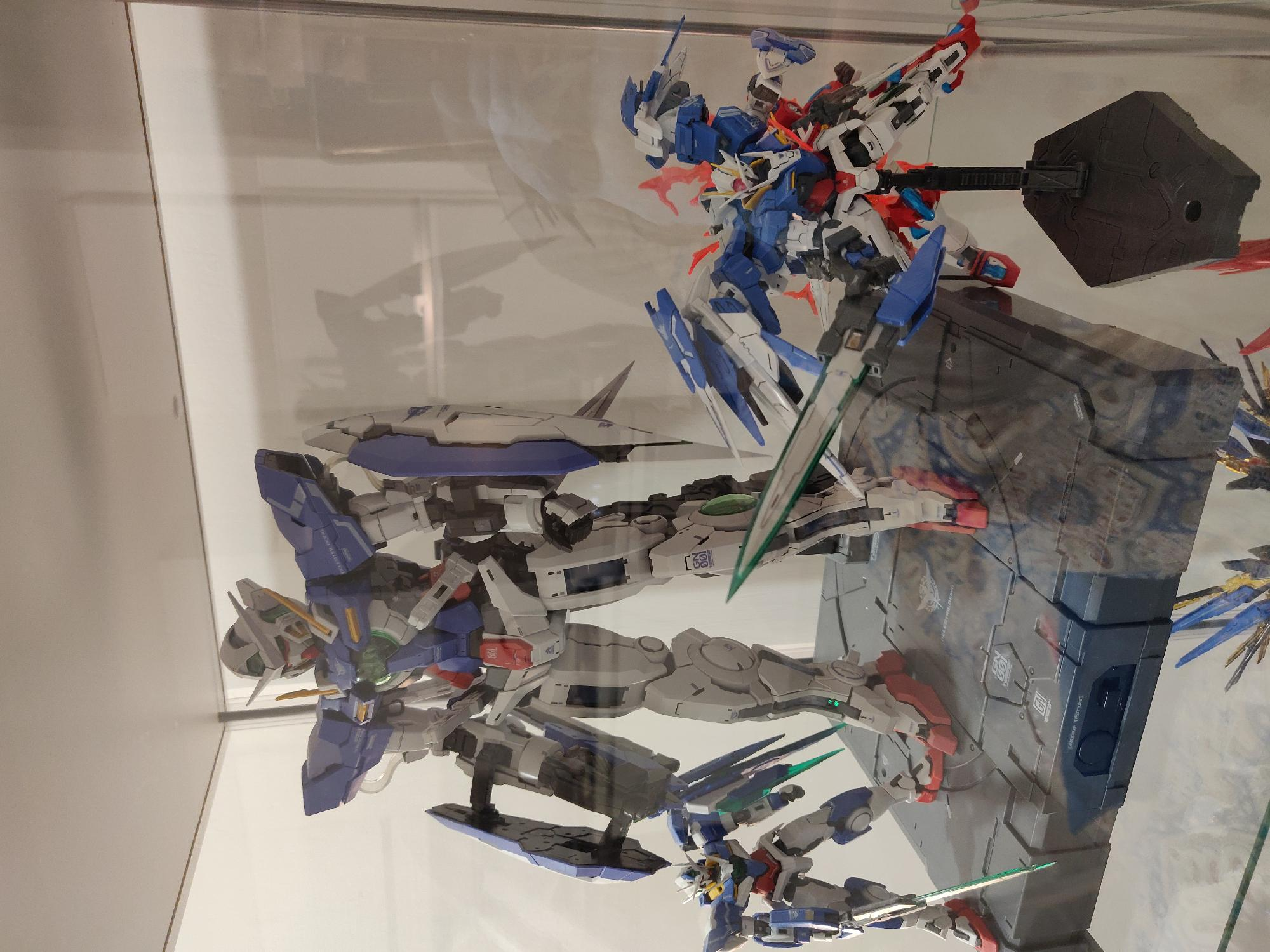 finally I finished the 00 raiser