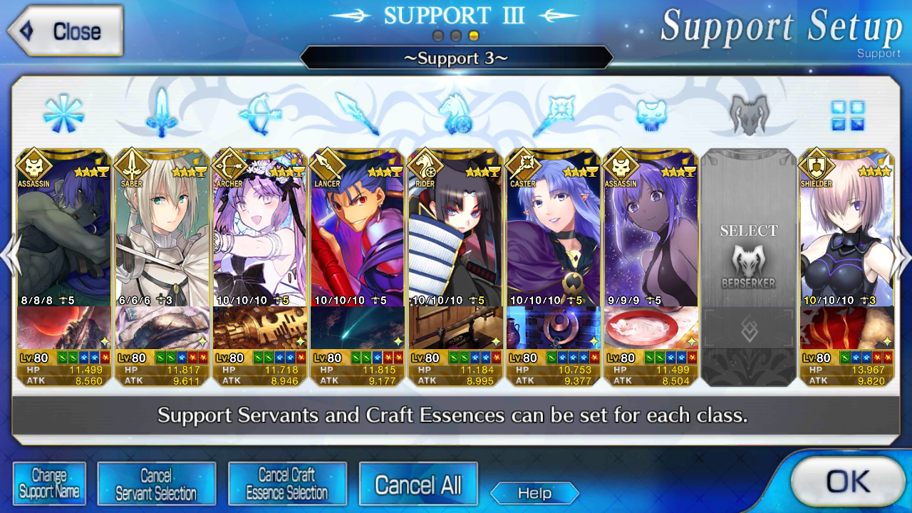 I need a 3 star berserker so badly, I'm willing to break my f2p status. Played for like 22 months.