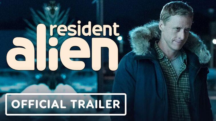 Syfy's Resident Alien - Official Trailer (2021) Alan Tudyk