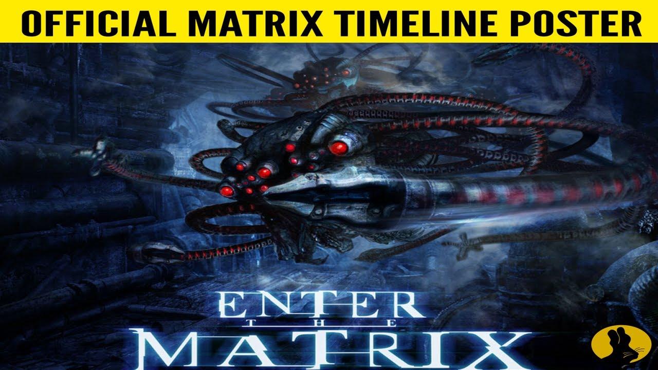 OFFICIAL MATRIX UNIVERSE POSTER