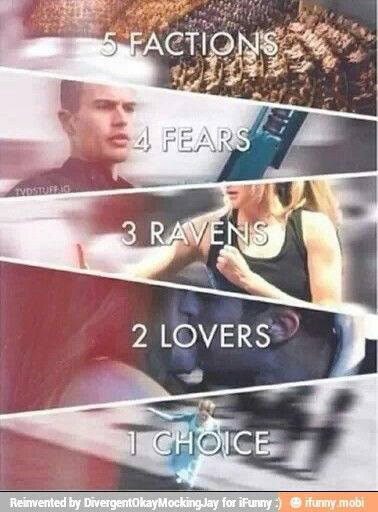 The Divergent Series In Ten Words. I LOVE THIS SO MUCH!!!!!
