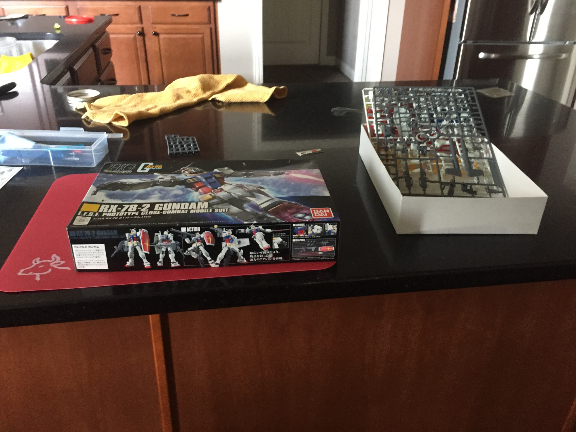 My first model just came in