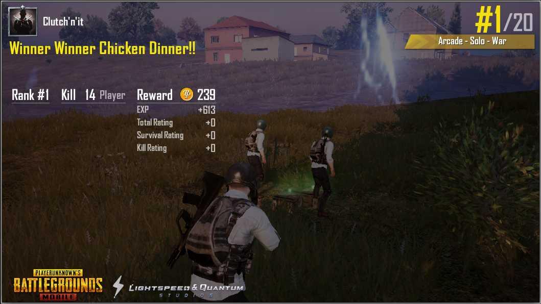 War dinner!!