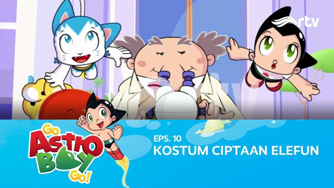 Go Astroboy Go RTV : Kostum Ciptaan Elefun