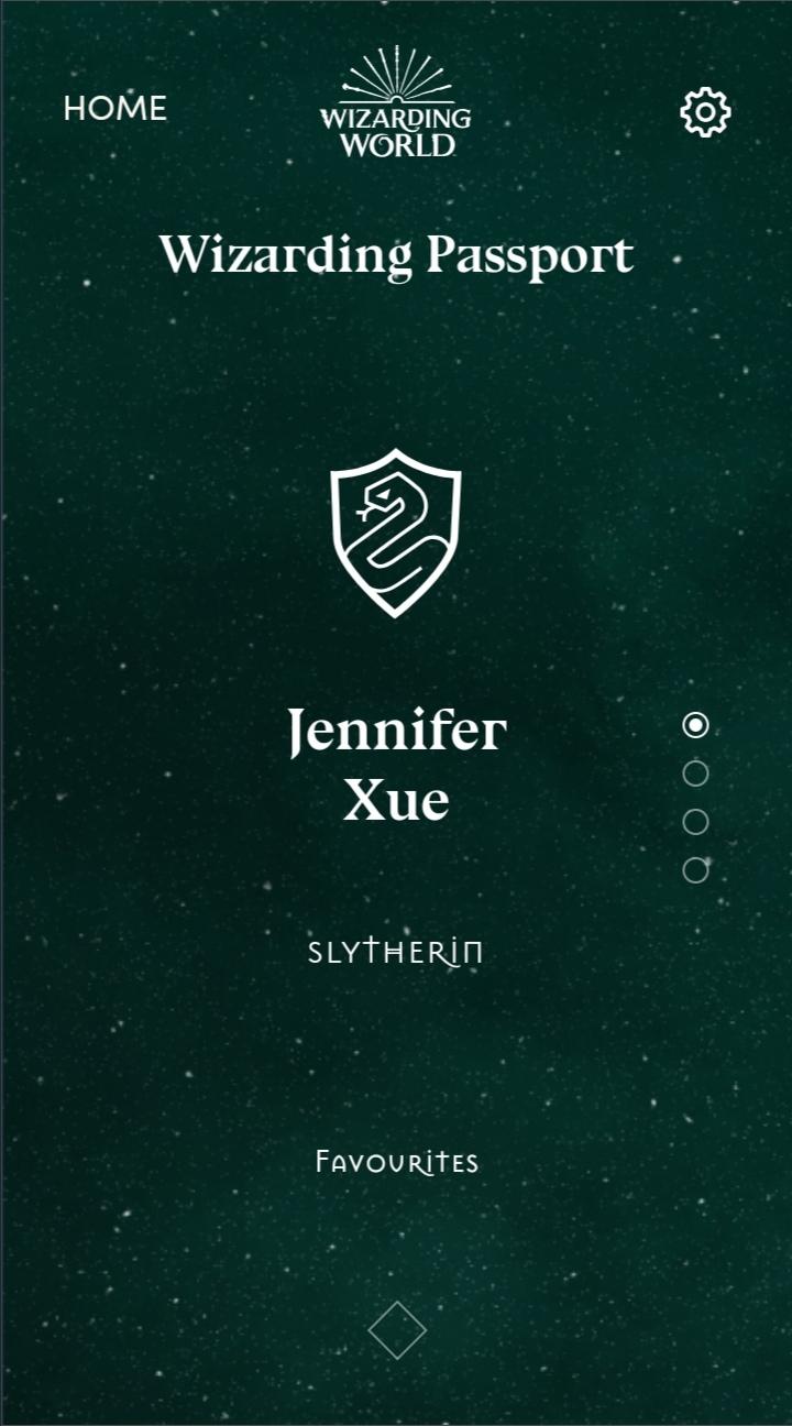 Slytherin!!