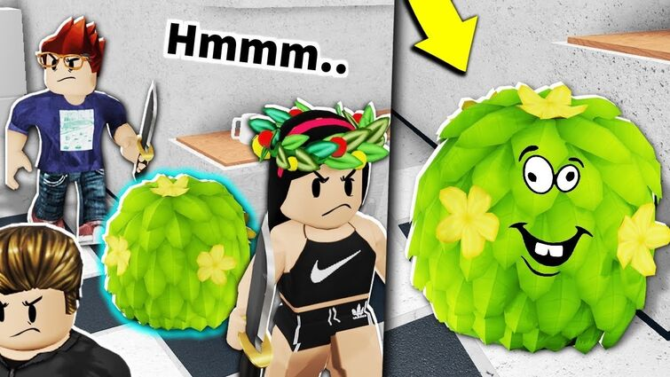 I wore a ROBLOX BUSH to hide from EVERYONE...