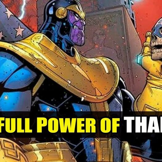 Full Power Of THANOS Explain In HINDI