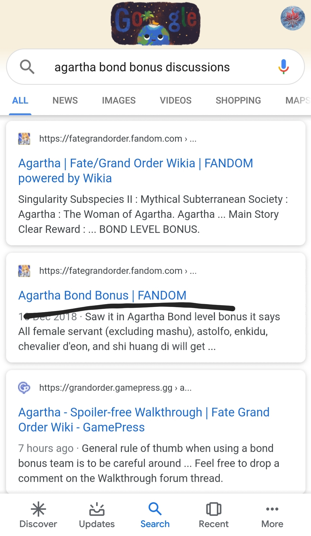 Agartha Bond Bonus | FANDOM
