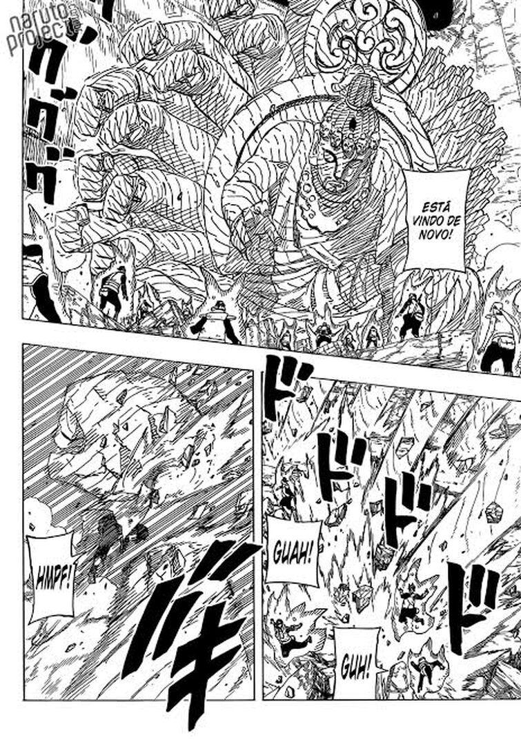 Realidade alternativa..... Ataque da Kyuubi de 16 anos atrás 755