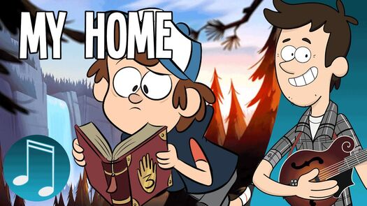"""""""My Home"""" - Gravity Falls Song by MandoPony"""
