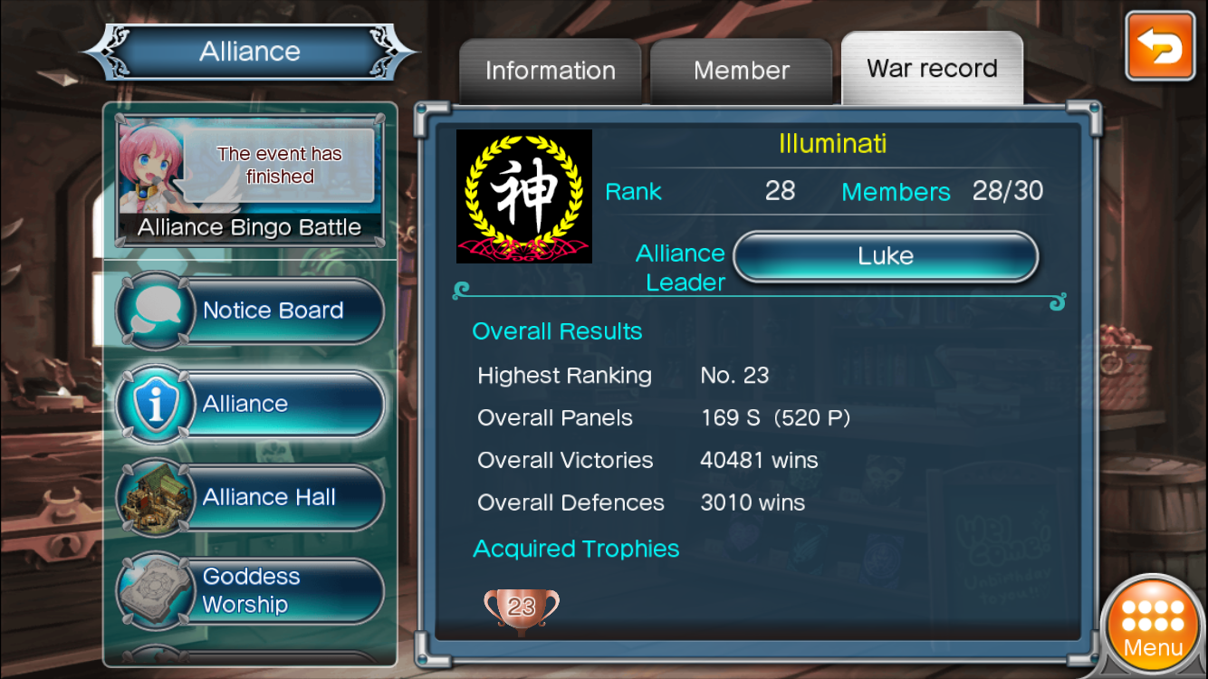 Alliance Illuminati is searching for new disciples to reach the top 20