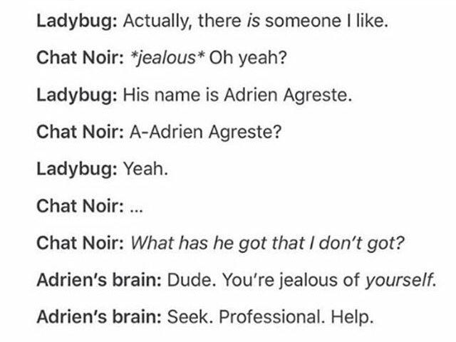 Adrien vs Chat