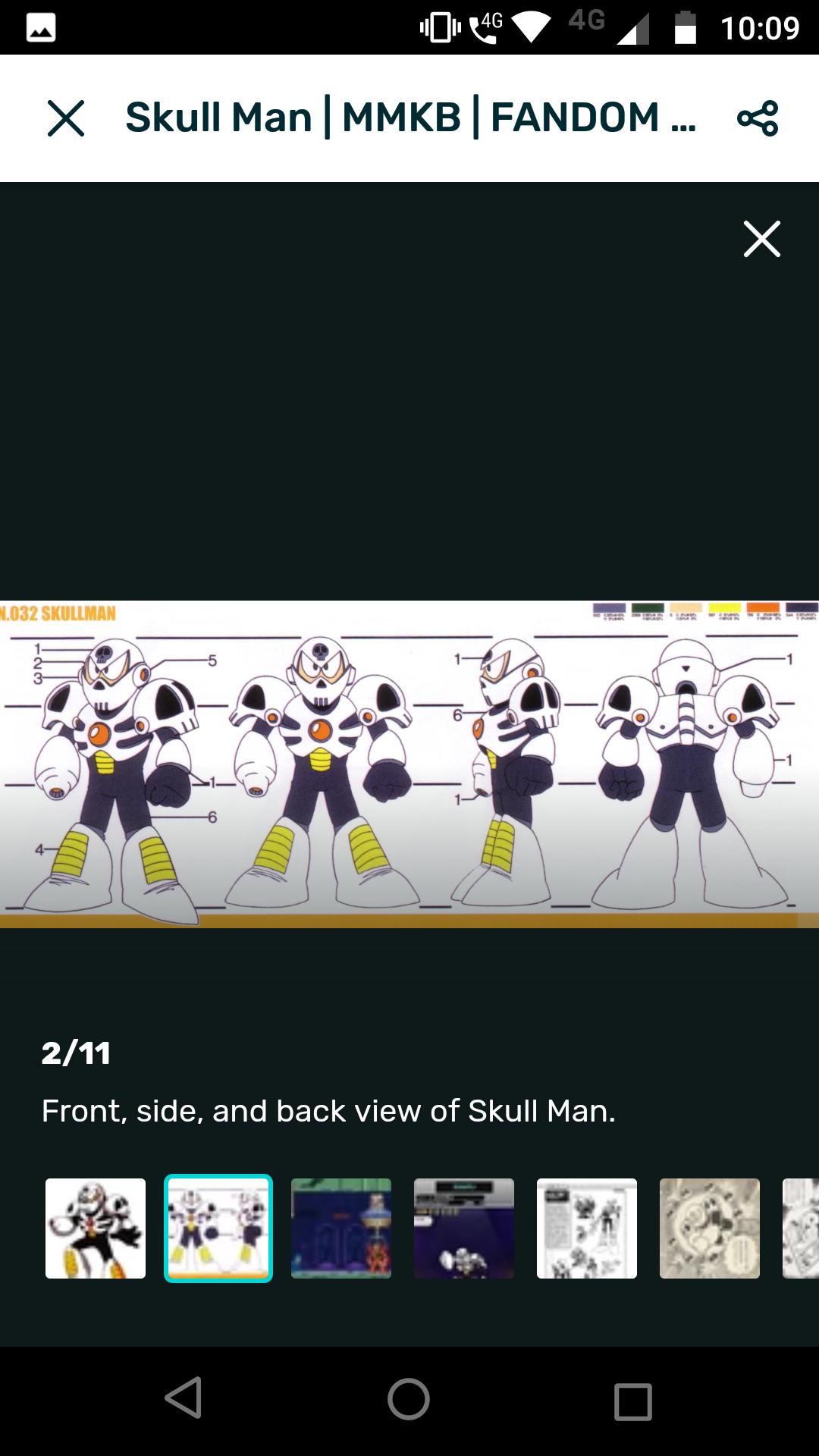 Daily robot master post skull man