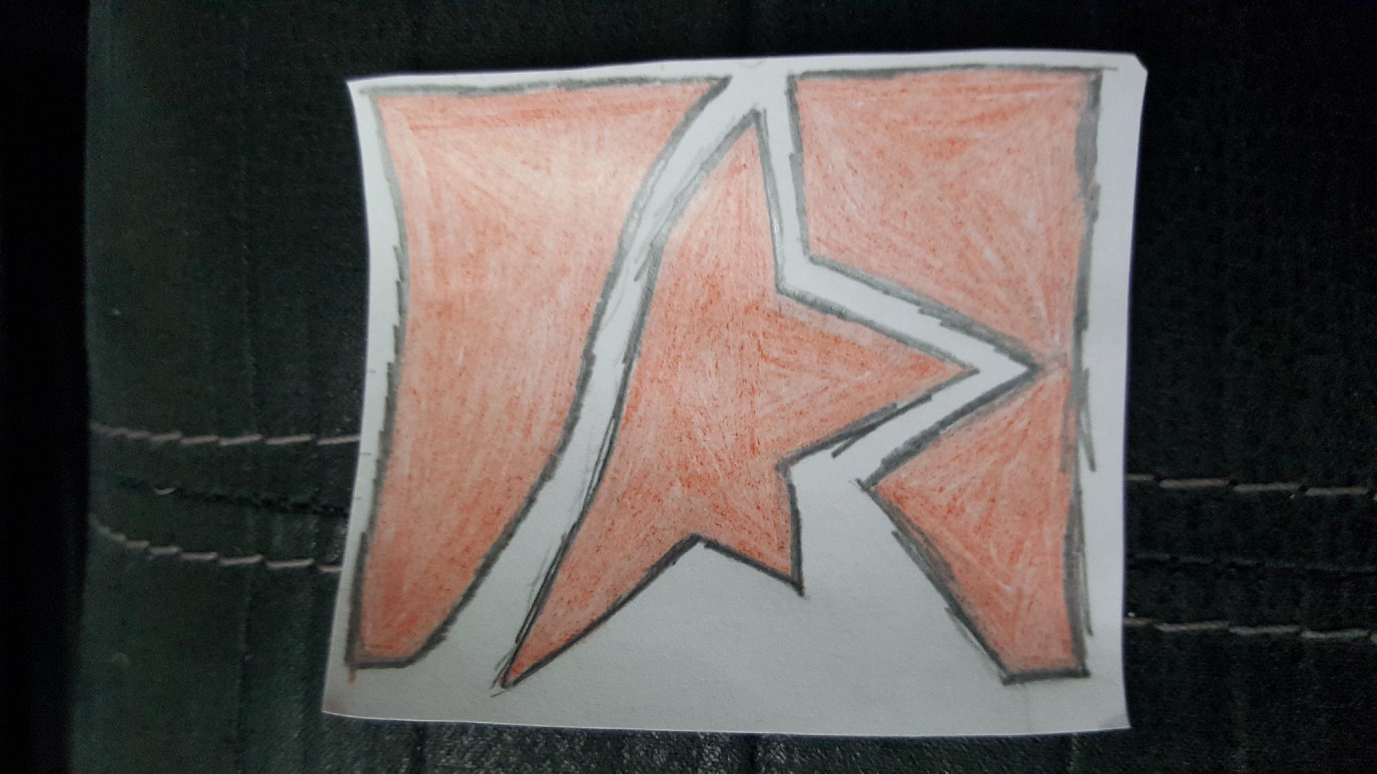 Runner's Emblem Drawing