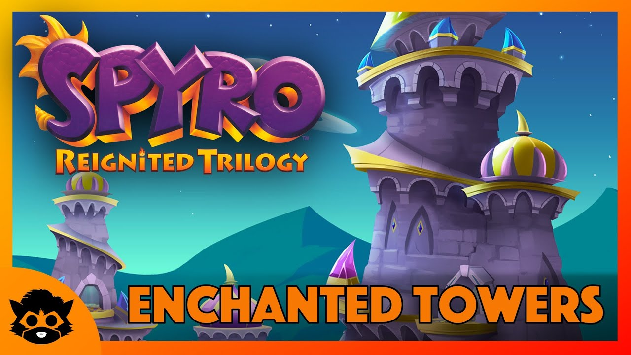 Spyro 3 (Reignited) | Part 13: Enchanted Towers 100% (All Gems & Eggs)