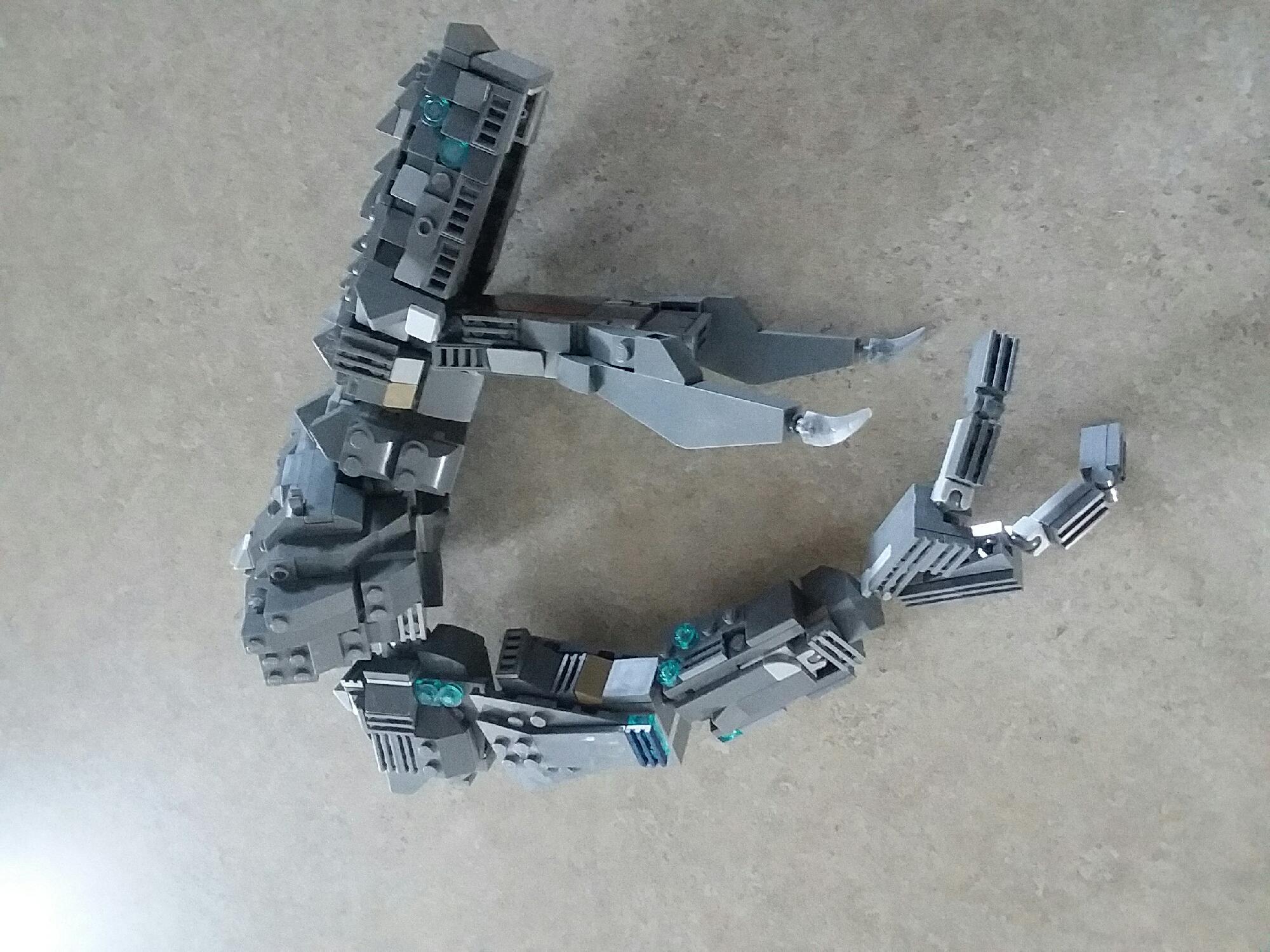 Update #1  Lego Mega kaiju